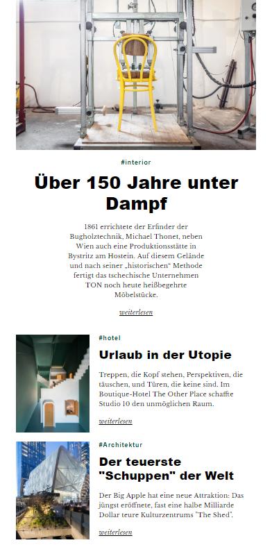 UBM Newsletter